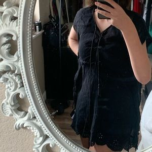Old navy black swimsuit coverup size small